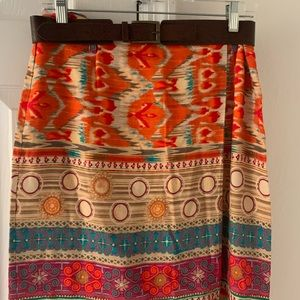 Amazing colors! Love this skirt!